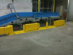 Plot béton rail de sécurité